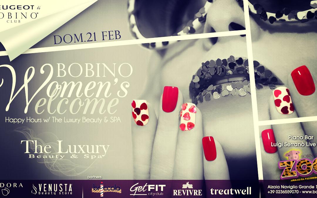 Bobino Women's Welcome del 21 Febbraio 2016